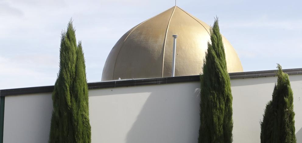 The attacks took place at the Al Noor mosque (pictured) and one in the suburb of Linwood. Photo:...