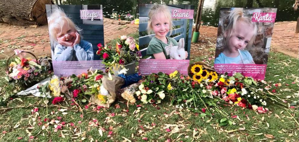 Family and friends have paid tribute to slain sisters Liané, Maya and Karla Dickason in their...