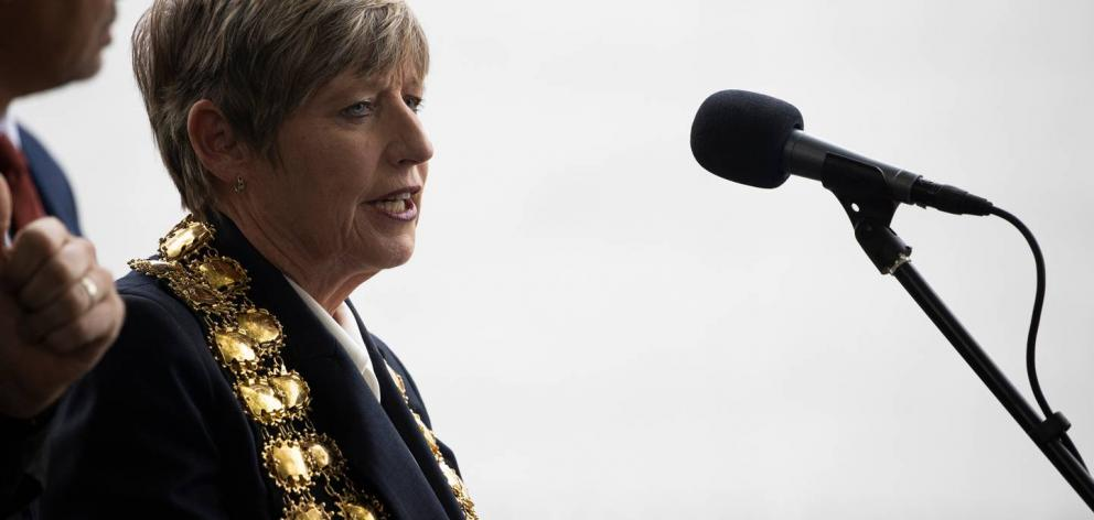 Christchurch Mayor Lianne Dalziel. Photo: George Heard