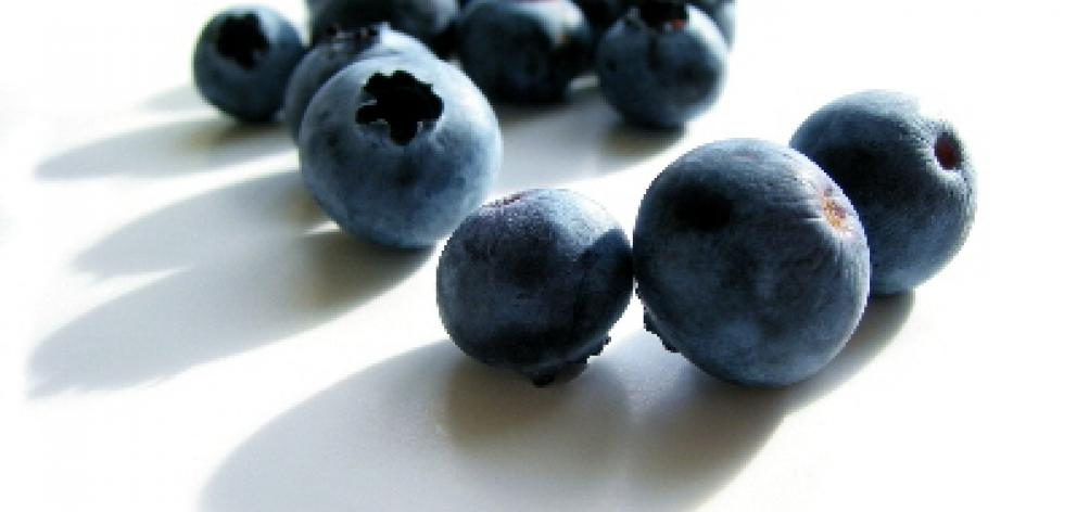 Blueberries, along with most purple and blue fruits or vegetables contain anthocyanins (important antioxidants) that help protect our cells from damage. Photo: Getty Images