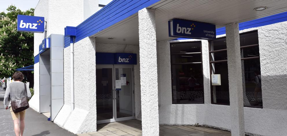 Around 10,000 BNZ customers are set to get a refund. Photo: ODT files