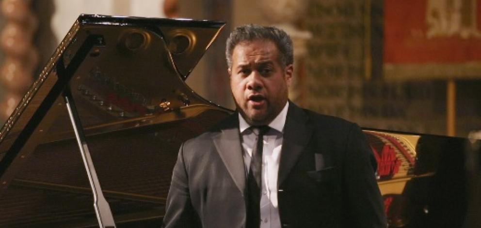 Grammy Award-winning baritone Jonathan Lemalu. Photo: TVNZ