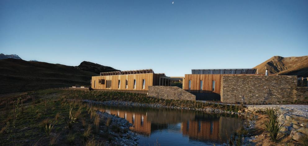 Aro Ha's spa buildings include two saunas, massage rooms and a huge outdoor spa.PHOTO: NEVILLE...