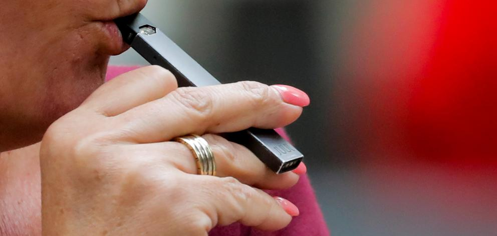 The Juul e-cigarette is one of the most popular devices in the US. Photo: Reuters