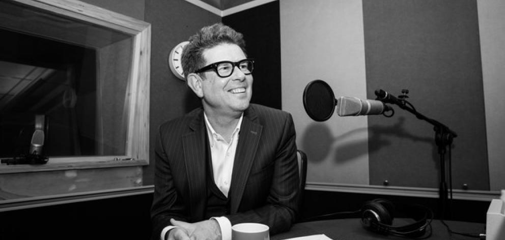 John Campbell joined the state broadcaster In 2015. Photo: RNZ