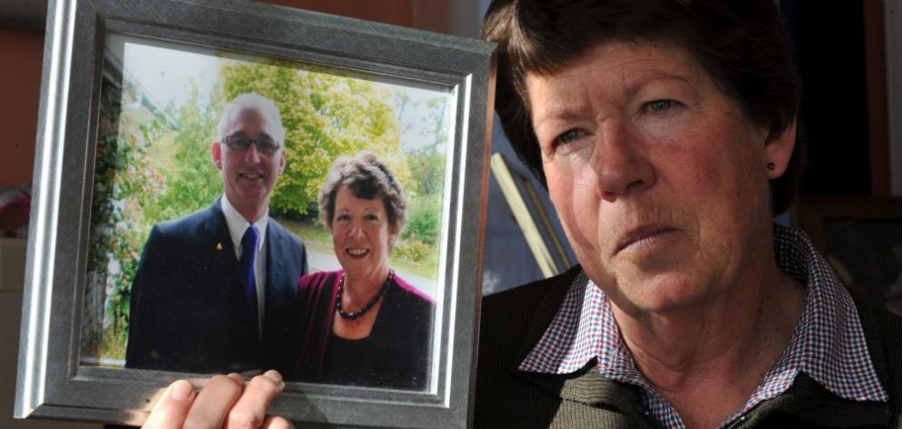 Needless heartache . . . Jean Hamilton lost her husband, Maurice, to mesothelioma, but the pain caused by asbestos is set to continue across New Zealand. PHOTO: CRAIG BAXTER