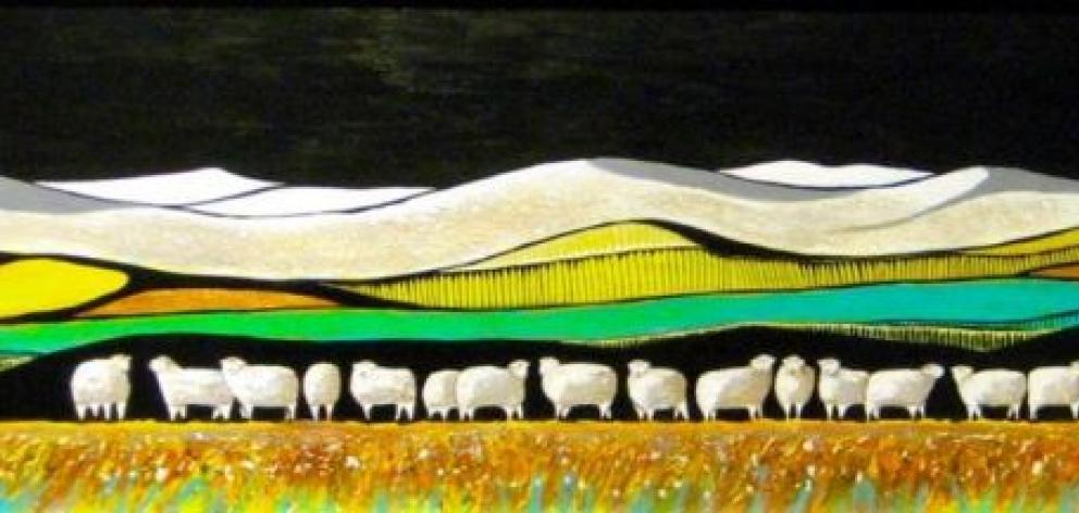 """Southern Ewes Zealand"" by Esther Dexter"