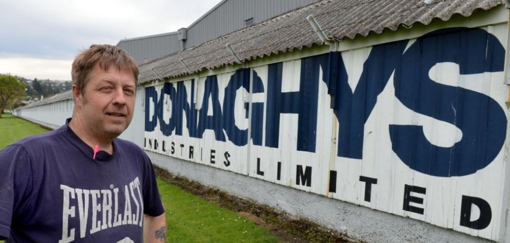 Donaghys worker Chris Smith has accepted voluntary redundancy as 29 workers are set to lose their jobs at the South Dunedin factory. Photo by Stephen Jaquiery.