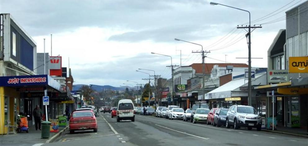 Balclutha's main street. Photo from ODT files.