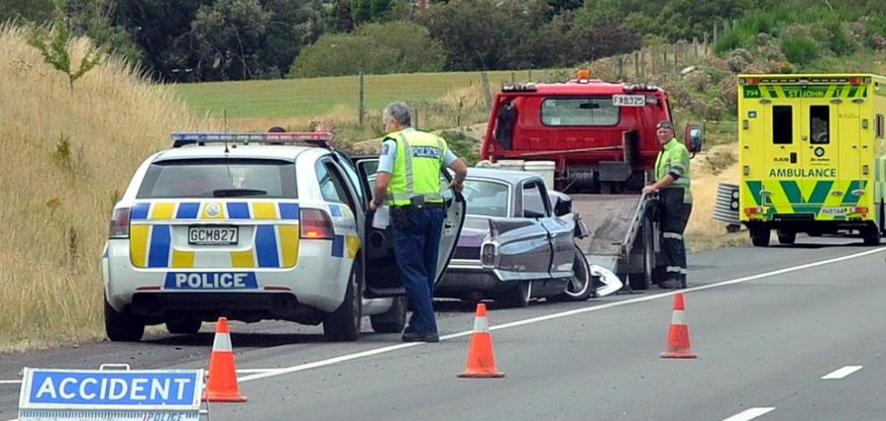 Crash on southern motorway | Otago Daily Times Online News