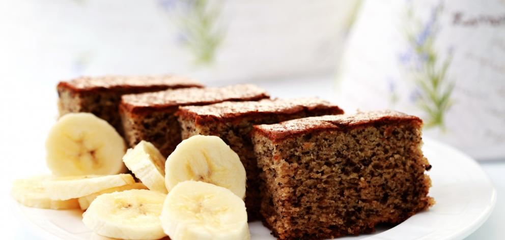 Banana cake's a popular choice for Kiwis. Photo: Getty Images