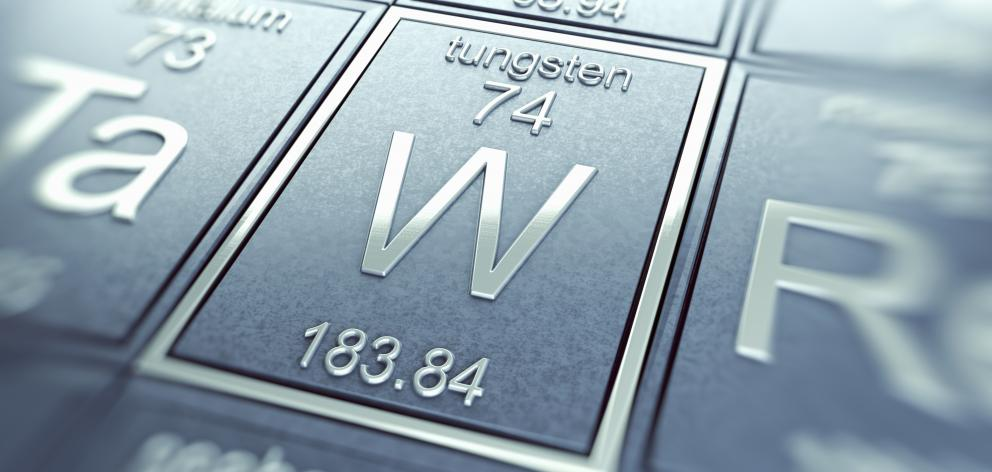 Tungsten may soon have wider applications. PHOTO: GETTY IMAGES
