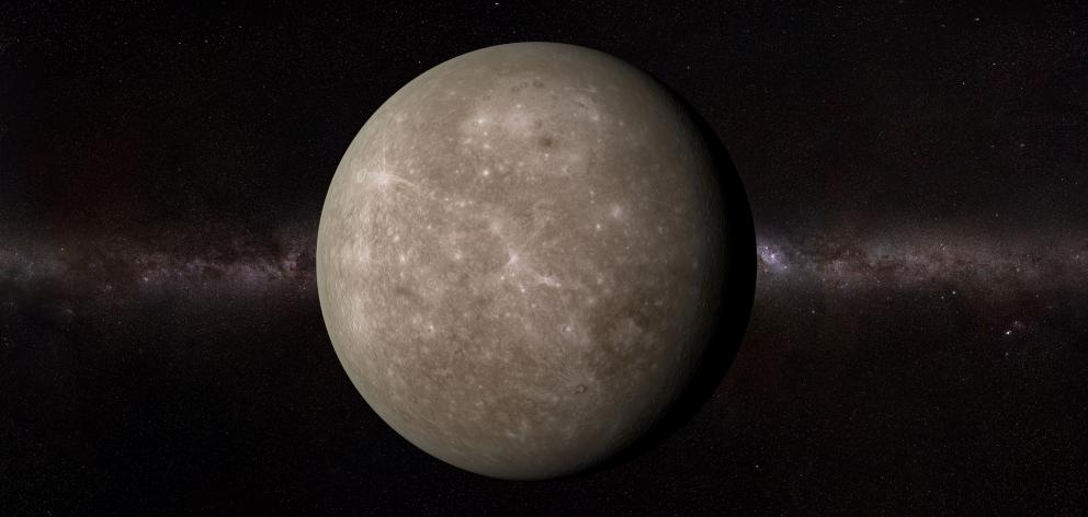 Mercury will be visible for the next couple of weeks. Photo: Getty Images