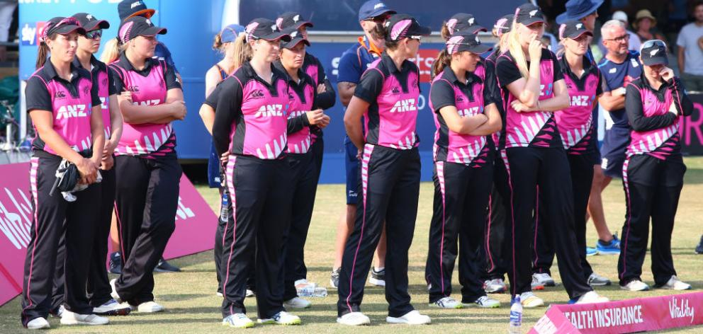 The New Zealand White Ferns will play England at Hagley Oval. Photo: Getty Images
