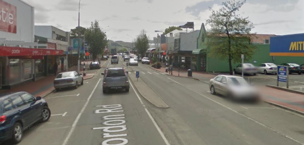 Gordon Road, Mosgiel. Image: Google Maps
