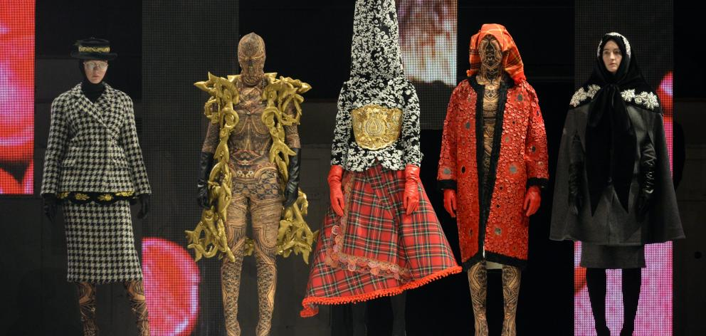iD Emerging Designer Damir Begovic's winning ''Ex-Vonia'' collection. Photo: Linda Robertson