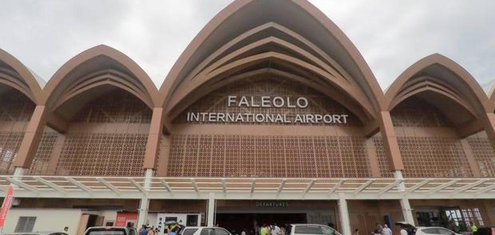 Authorities were called to Faleolo International Airport prior to a Samoa Airways flight touching...