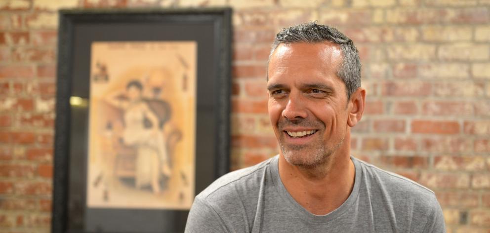 Celebrity chef and author Josh Emett. Photo: Stephen Jaquiery