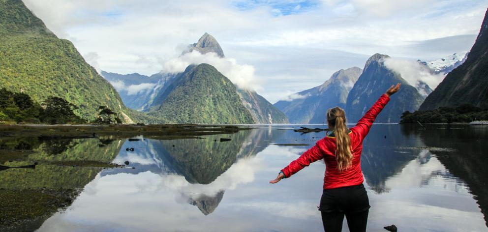 The Milford Track is hugely popular. Photo: Doc