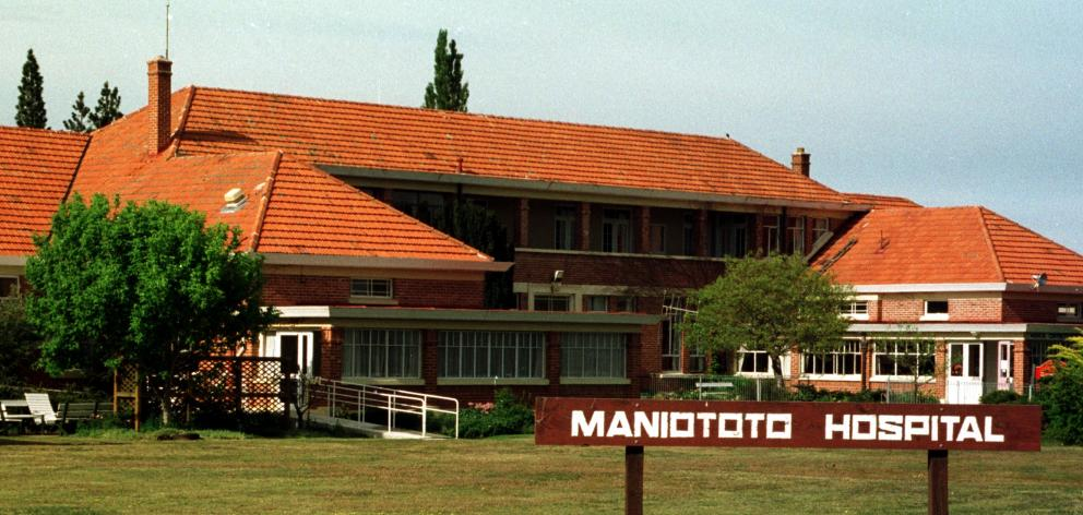 The old Maniototo Hospital building. PHOTO: ODT FILES