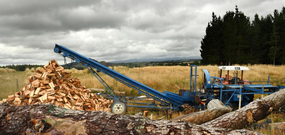 The McKenzie family have used their home-made technology for their forestry operation.