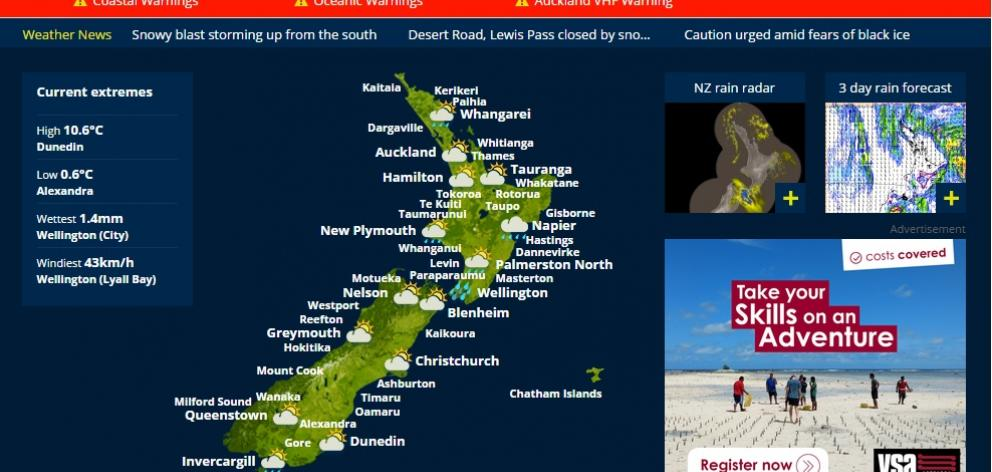 Caution urged amid fears of black ice | Otago Daily Times