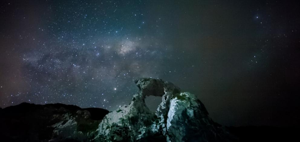 The Milky Way from Aramoana.