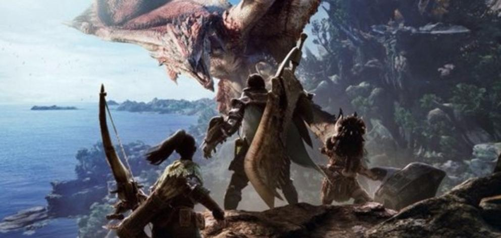 Monster Hunter World has a living, breathing ecosystem that transports you, a hunter, into a ''New World''. Photo: supplied