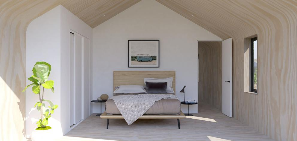 A bedroom. Photo: Supplied
