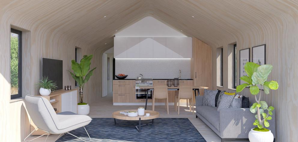 A living area. Photo: Supplied