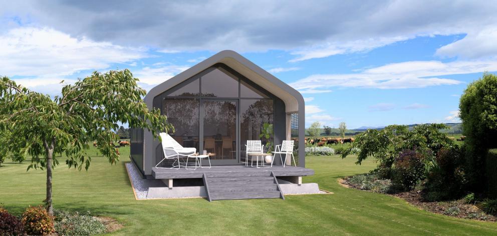 A Nautilus Modular single pavilion. Photo: Supplied