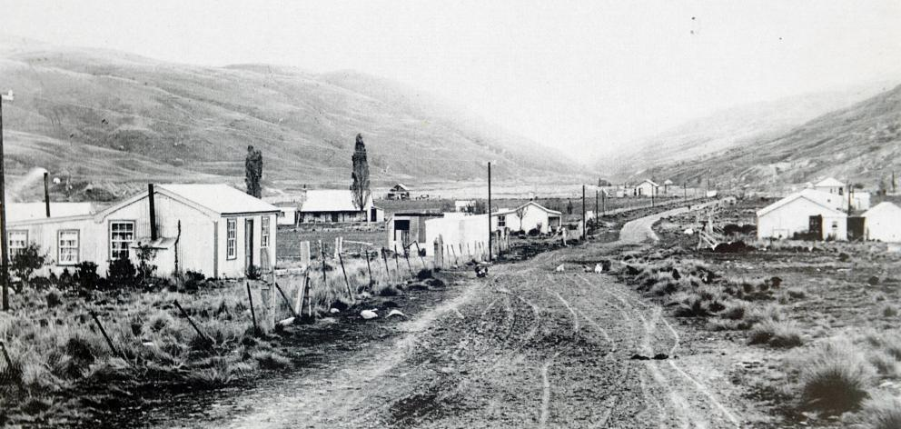 The Lower Nevis township in 1907. Photo: C.A Tomlinson