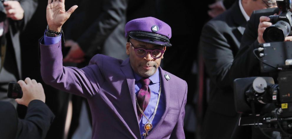 Spike Lee is nominated for best director for his film 'BlackKklansman'. Photo: Reuters
