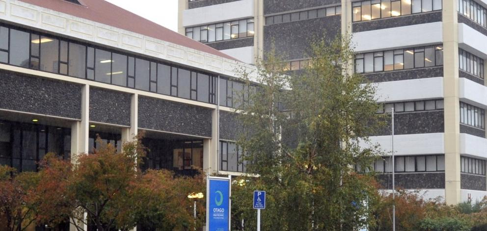 Otago Polytechnic. Photo: ODT files