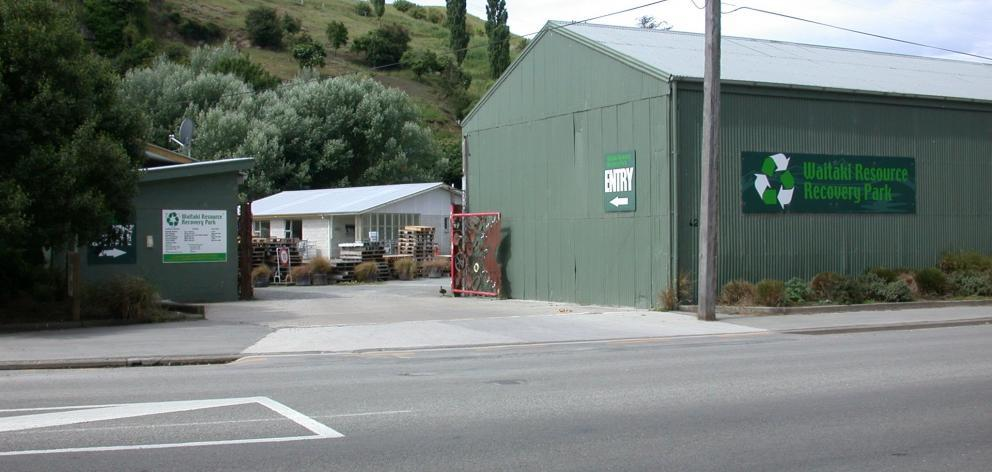 The Waitaki Resource Recovery Park. Photo: ODT