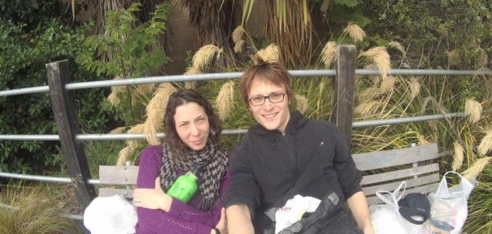 Pavlina Pizova and Ondrej petr. Photo supplied/NZ Police