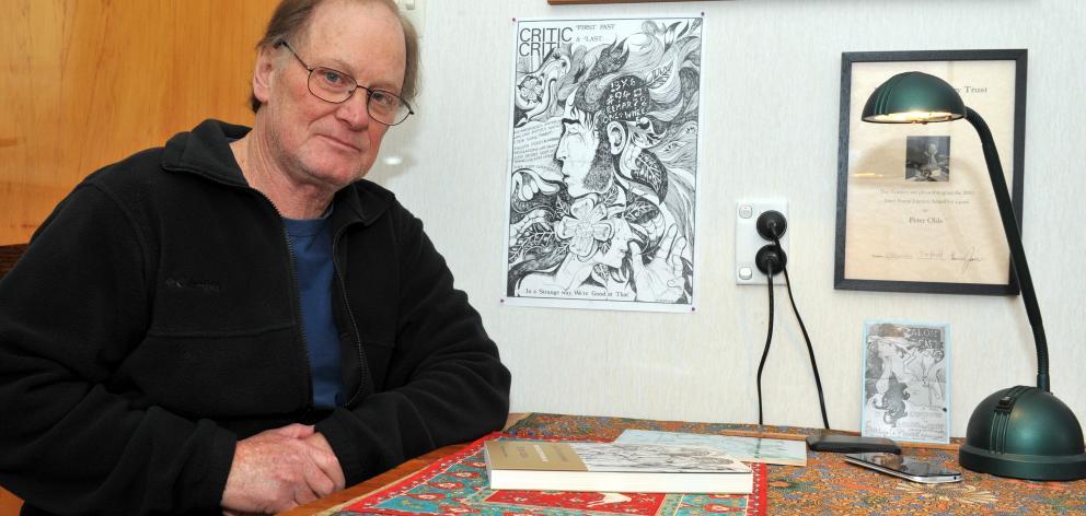 Dunedin poet Peter Olds. Photo: Gregor Richardson