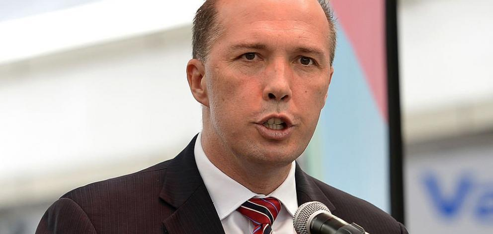 Peter Dutton says he won't interfere with the police investigation. Photo: Getty Images