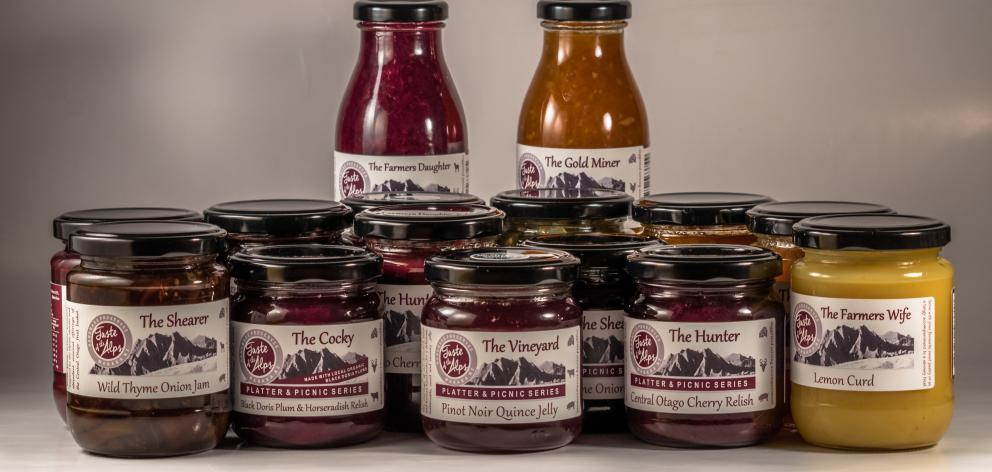 Taste of the Alps preserves. Photo: Supplied