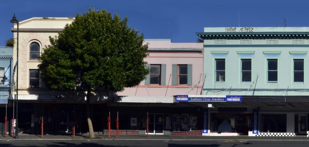 The buildings at 372-392 Princes St. Photo: Gerard O'Brien