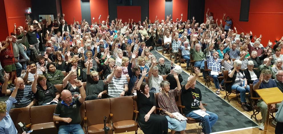 A big crowd turned out at the Reefton Community Hall earlier this month to protest against...