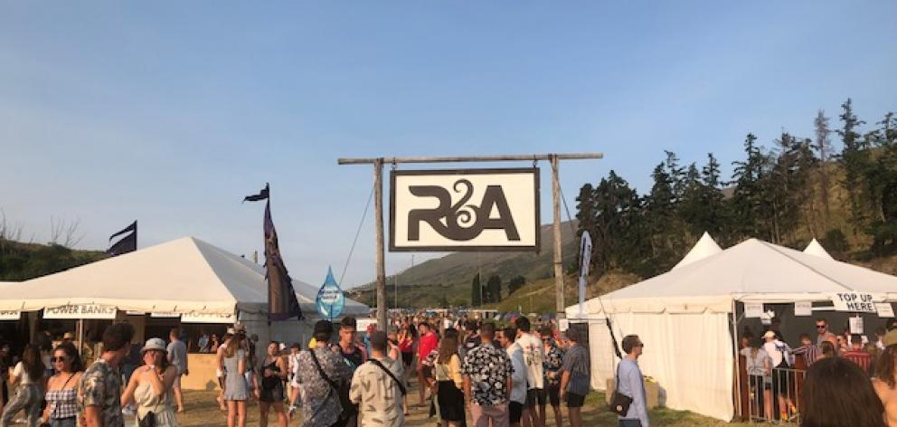 R&A hotting up as the sun goes down on a perfect summer's day. Photo: Kerrie Waterworth