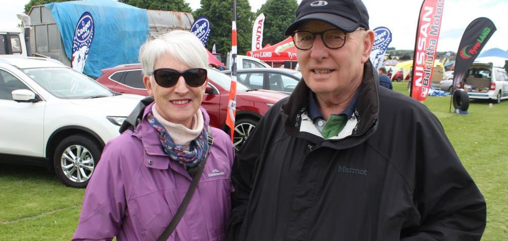 Lyn and Selwyn Cardno, of Balclutha.