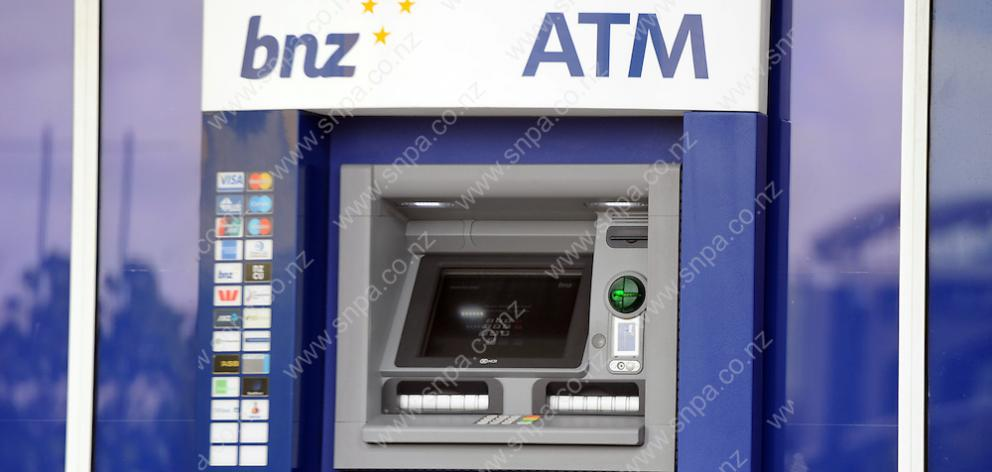 BNZ is now the only bank to offer ATM services in Arrowtown. Photo: ODT files