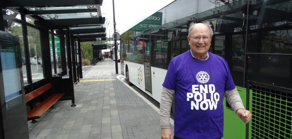 Rotary Dunedin president Emeritus Prof John Drummond will be among dozens of rotarians riding the...
