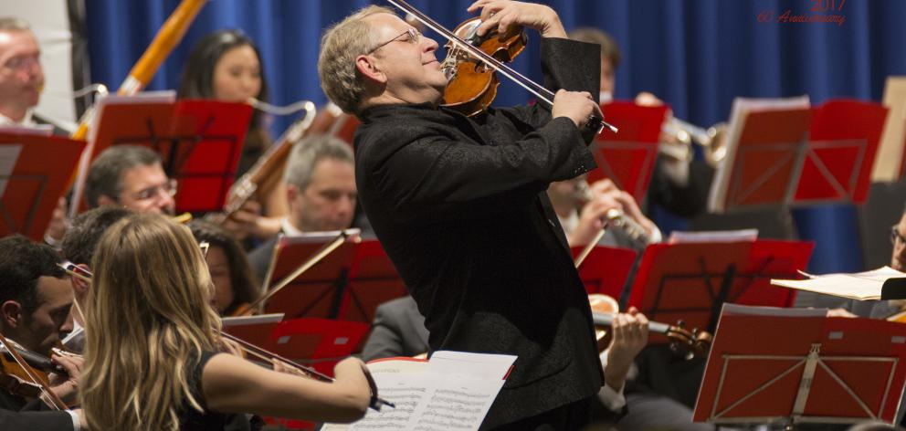 Violin virtuoso Shlomo Mintz visits Dunedin in April. Photo: supplied