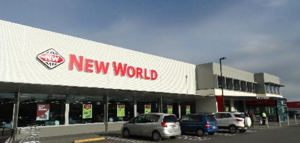 The service will visit New World Mosgiel on Fridays. Photo: Star files