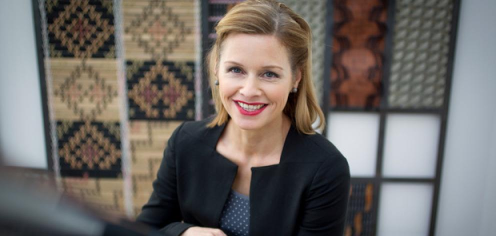 Journalist and television presenter Mihingarangi Forbes. Photo: Sarah Ivey, NZ Herald