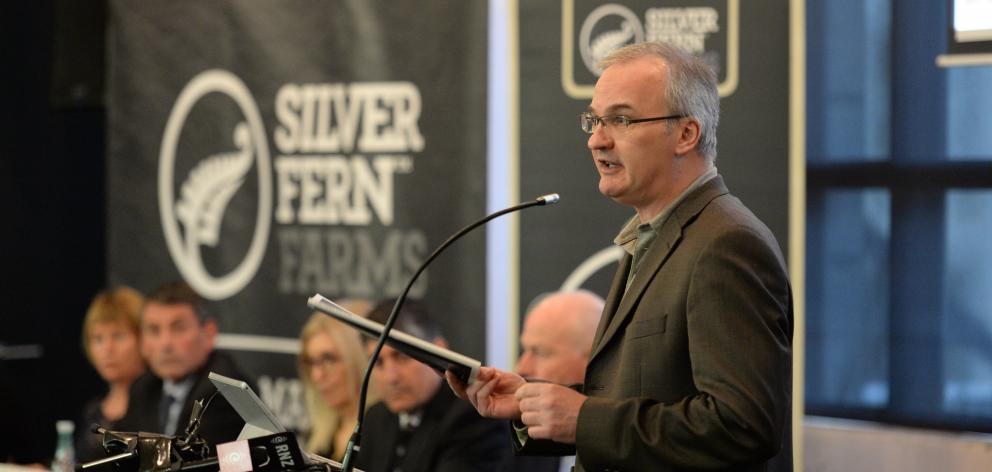 John Shrimpton outlines his views on the Silver Fern Farms-Shanghai Maling joint venture at the...
