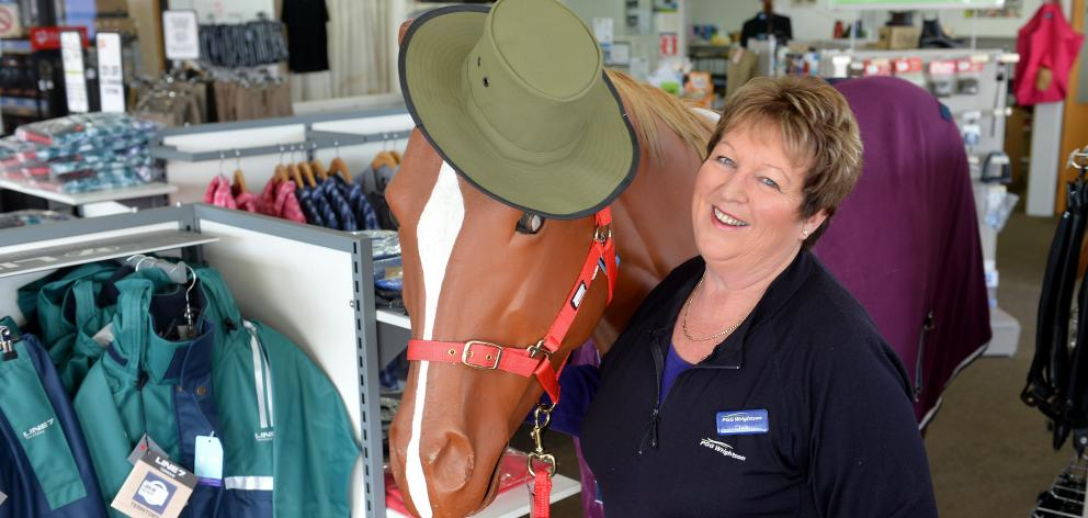 PGG Wrightson's long-serving Mosgiel store manager Chris Bayne is retiring next month. Photo by...